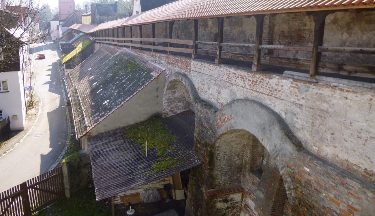 Memmingen Stadtmauer