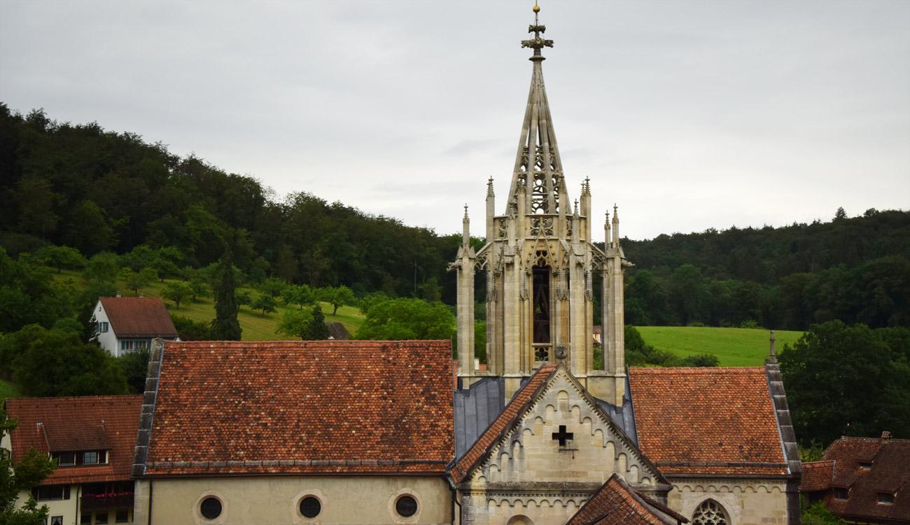 Ehem. Kloster Bebenhausen, Kreuzblume des Vierungsturmes
