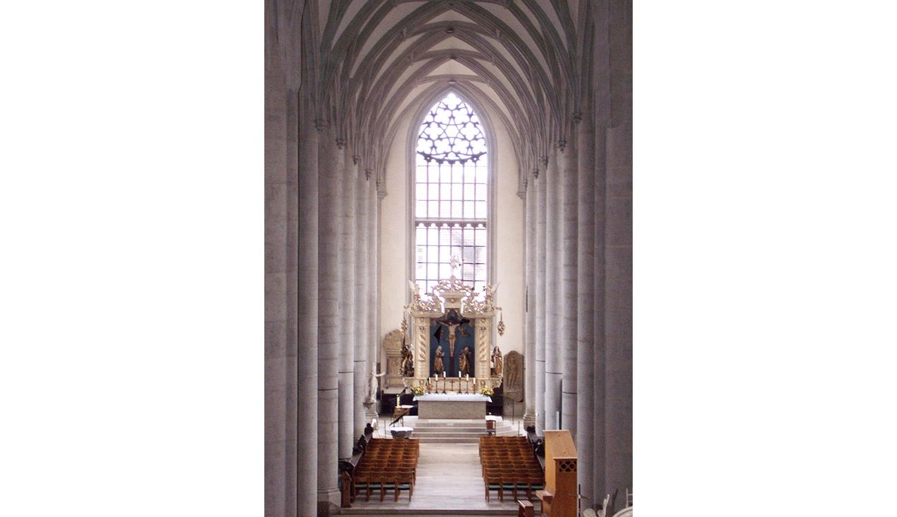 Nördlingen, Pfarrkirche St. Georg, Ostchorfems