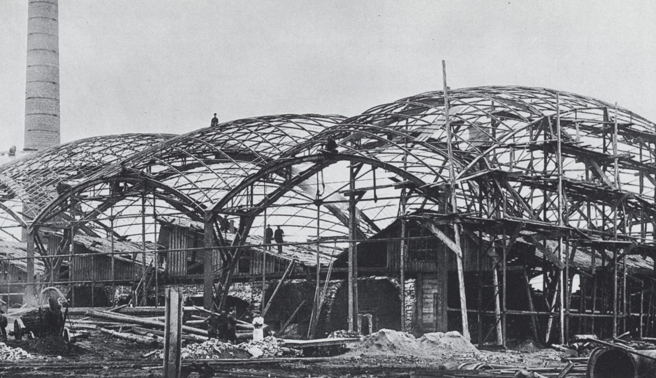 Industriehalle in Vyksa (Russland)