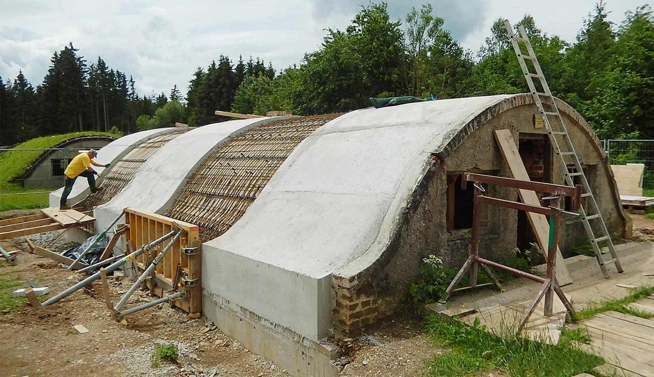 Tonröhrenbauwerke des ehem. KZ-Außenlagers Kaufering, Landsberg a. Lech